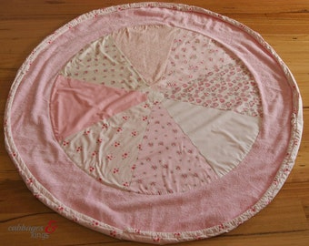 Play Rug Sack in pretty pink floral