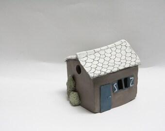Sculpture ceramic House