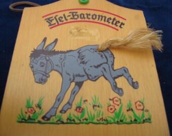donkey Barometer