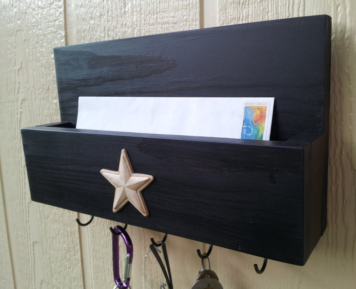 Mail And Key Rack Mail Organizer Mail And Key Holder Key