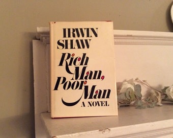 Vintage Book -Rich Man poor Man by Shaw