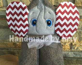 Elephant Hooded Towel with 3D ears - Great for kids of all ages!