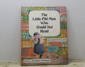 The Old Man who Could Not Read, 1968, Irma Simonton Black, Seymour Fleishman, vintage kids book