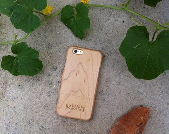 100% Maple Case with GRASP for iPhone 6 and iPhone 6plus
