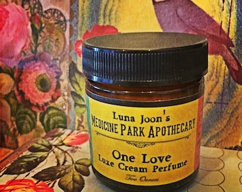 One Love Perfume Cream - A Patchouli Paradise - Two Ounces