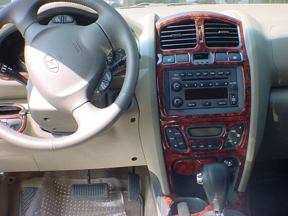 Hyundai Santa Fe 2005 2006 New Interior Set With Digital Or