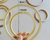 Embroidery Hoops - Set of 10