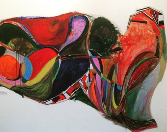 Mural titled 'scrawl'