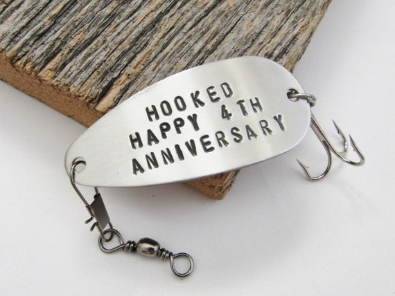 Fourth Year Wedding Anniversary Gift: 4th Anniversary Gift For Him 4 Year Anniversary Fourth Wedding