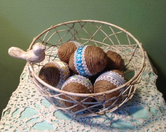 Shabby Chic Eggs Bowl Fillers