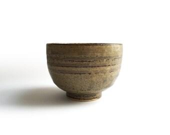 Japanese Vintage Earthenware Tea Cup #27080406