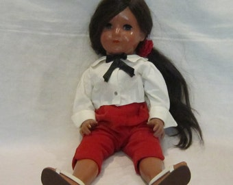 Vintage Tortulon German Celluloid Doll