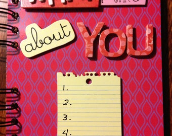 What I Love About You Journal
