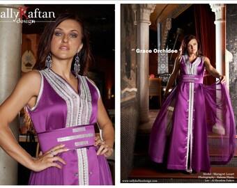 Grace ''Orchidee'' Moroccan Kaftan/Caftan