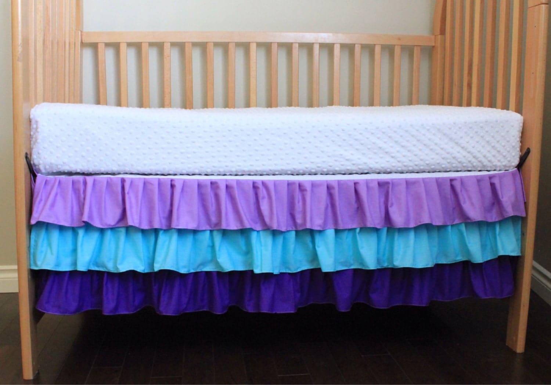 Purple Crib Skirt 102