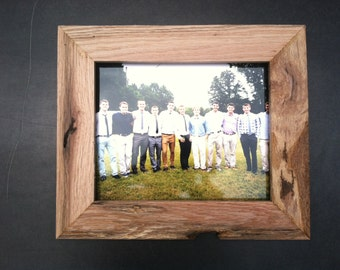 Custom Rustic Oak Picture Frames, all sizes