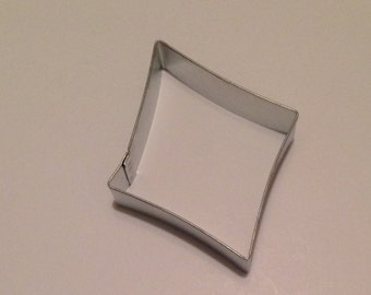 "3.5"" Diamond Cookie Cutter"