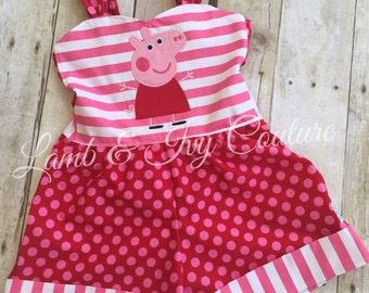 Peppa Pig Rayna Romper 6/12m-8girls Free Shipping