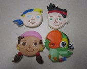 12 Jake and the Neverland Pirates Fan Art Cookies