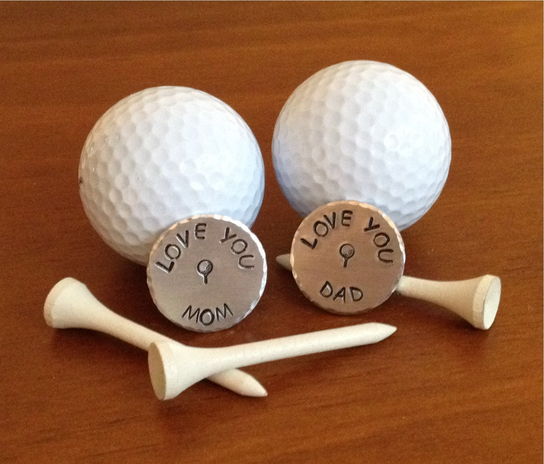 Custom Ball Marker Ball Marker Fathers Day Gift Golf Ball