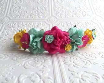 The Sweet Summer Goddess Floral Crown