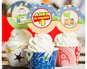 Toy Story; Toy Story Party; Toy Story Birthday Party; Toy Story Birthday; Toy Story Birthday Party; Toy Story Cupcake Toppers and Wrappers