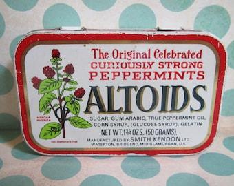 Altoids Peppermints Tin