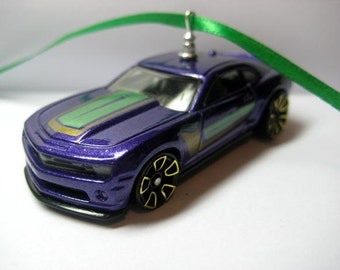 2013 Chevy Chevrolet Camaro Special Edition Muscle Sports Car Christmas Ornament