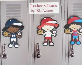 cheerleading locker decorations. Baseball Locker Decoration  Personalize your own Chum Cheerleader