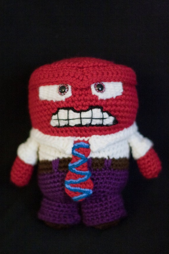 Inside Out Amigurumi Patterns : Anger (Inside Out) Amigurumi Crochet Pattern from ...