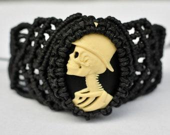 """Bracelet """"Dia de los Muertos"""""""