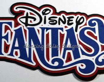 Disney Fantasy Ship Etsy