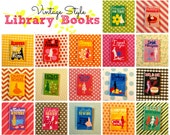 Miniature Library Book (playscale 1:6 scale diorama play mini books) (etiquette recipes travel fashion party diy sewing camping design cook)