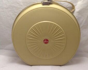 Vintage Hoover Bonnet Hair Dryer 1960s, Clip Case Model 8201, Retro, Mid-Century