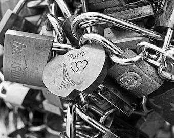 Paris Love Locks, Paris France, Love Locks, Paris Photography, Paris Art, Paris Picture, Paris Decor, Paris Print, pont des arts, valentine