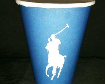 Polo Themed Cups (set of 12)