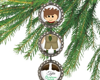 SALE! Scout Christmas Ornament -  Personalized Christmas Ornament - Cyber Monday Sale