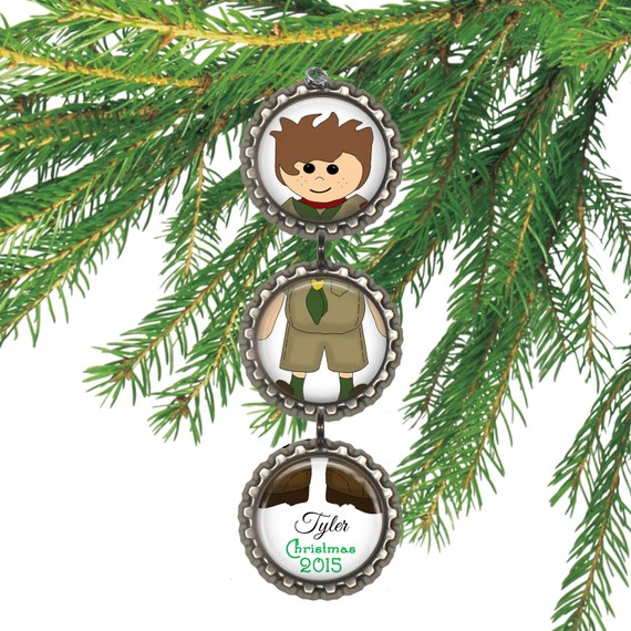 SALE Scout Christmas Ornament Personalized Christmas