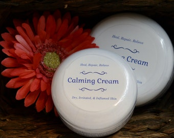 Calming Cream - Treat Inflamed Skin & Encourage Healing