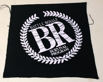 BATTLE ROYALE patch horror punk goth Free Shipping