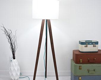 floor lamp tripod lamp lighting lamp tripod light wood floor lamp