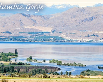 Columbia River and Cascades (Art Prints available in multiple sizes)