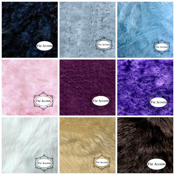 Sample Swatch Cutting For Faux Fur Rugs Throw Blankets And