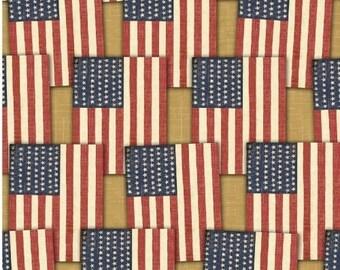 Windham Fabrics Freedom 38905 Vintage Flag Pattern Yardage