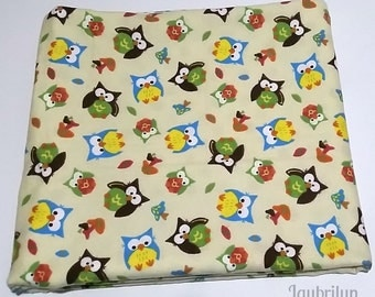 Cute Blanket for Baby - Reversible Blanket with Owls and Polka Dots - Soft and Cozy Baby Blanket - Cute Baby Blanket - Baby Shower Gift
