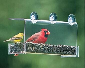 Duncraft Cardinal Classic Window Feeder