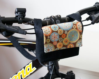 Bicycle Handle Bar Bag Sewing Pattern / Bike Bag Sewing Pattern