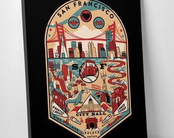 Fog City Pinball Art Print