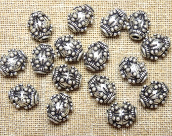 Cool Oval Metal Beads