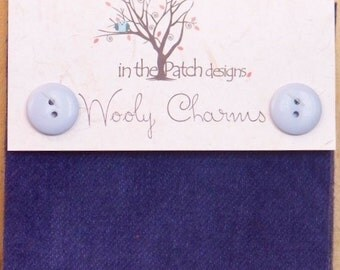 In The Patch Designs - Wool Charms - Blue-Violet - #4608